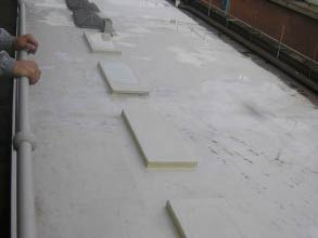 Cold applied Belzona roofing membrane system