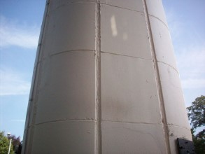 Damaged concrete restored using Belzona 4141 (Magma-Build) and protected using Belzona 5151 (Hi-Build Cladding)